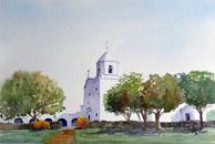 Church, landscape